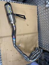 2015  Yamaha R1m R1 2cr Arrow Full Titanium Race Exhaust System 2016 2017 2018