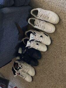 Used Jordans Lot , Size  9.5-10 : Jordan 5, Jordan 5, Jordan 4, Air force 1