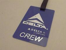 Novelty Luggage Crew Tags - Delta Airlines Crew