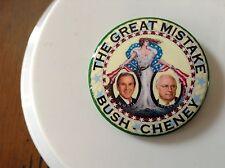 political guardfrog design Bush - Cheney button