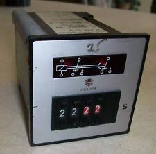 Schleicher Timer DZD32-SL  24vac  0.01-99.99 seconds