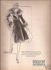 70's Yves Saint Laurent Bloomingdale's &  EM Larson Bergdorf's Advertisements
