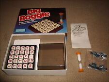 Vintage BIG BOGGLE Word Cube Game Parker Brothers 1987 100% Complete VG