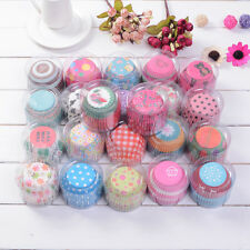 100pcs Cupcake Paper Cake Liners Case Wrapper Party Muffin Baking Cup