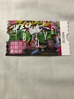 BTS Global Official Fanclub ARMY 6th Membership Jhope Cinema Ticket