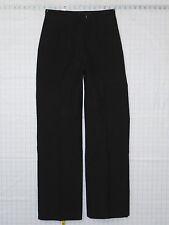 Apparel Brands Inc US NAVY sz 10 MR Womens Black Dress Pants Slacks A1650