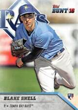 2016 Topps Bunt  #19 Blake Snell RC Rookie Card > Tampa Bay Rays CY YOUNG RC