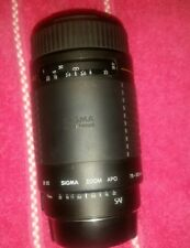 SIGMA APO 75-300mm 1:4-5.6 Auto Focus Zoom Lens For Canon AF