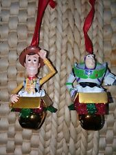 CHRISTMAS ORNAMENT SET/ BUZZ AND WOODY