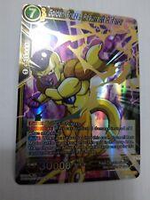 DRAGONBALL SUPER CARD GAME GOLDEN FRIEZA, RESURECTED TERROR NEAR MINT BT1-066 SR