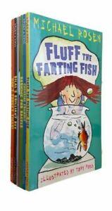 Michael Rosen 6 Books Set Kids Funny Fun Stories Younger Children - GIFT