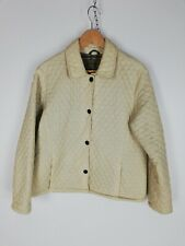 BARBOUR L211 Trapunta Cappotto Giubbotto Jacket Giacca Tg It: 44 Uk: 12 Donna C1