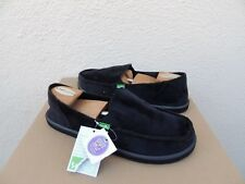 SANUK BLACK DONNA VELVET SIDEWALK SURFER SHOES, WOMEN US 10/ EUR 41 ~NWT