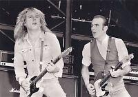 RICK PARFITT STATUS QUO PHOTO LONDON 1986 12INCH UNRELEASED UNIQUE EXCLUSIVE GEM