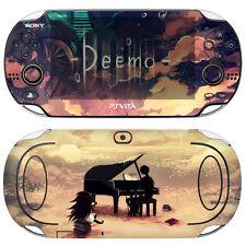 POPSKIN Skin Decal Sticker For PS Vita Original PCH-1000 Series Console-Deemo#02