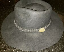 EUC beautiful condition Vtg The Australian Outback Collection Cowboy Hat 7 1/8