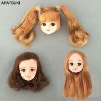 Soft High Quality DIY Doll Head For Licca Doll Heads For 1/6 BJD DIY Kids Toy