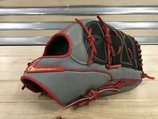 "Nike Shado Pro 12"" Baseball Glove Grey Red Gold Japan RH ( BF1753-014 )"