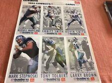 1993 MCDONALDS DALLAS COWBOY FOOTBALL CARDS