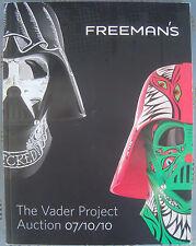 Darth Vader Helmet Project Star Wars Catalog Book signed by 23 artist Paul Frank