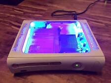Custom Modded Xbox 360 With Window and Blue LED's (FREE SHIPPING!!)