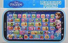 Kid Children Boy Girl Frozen Figures Educational Learning Smart Mobile Phone Toy