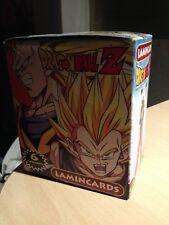 Dragon ball Z  BOX Lamincards serie argent scellées  24 boosters