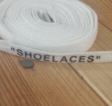Lacets lace blanc shoelaces off white  140cm