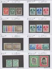 A8980: Better Indonesia Stamps, Mint; CV $185