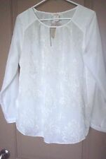 SUNDANCE CATALOG  SILK RENAISSANCE TOP-NWT-SIZE MEDIUM PETITE