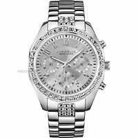 Women's New Caravelle New York 43L171 Chronograph Stainless Watch New in Box