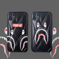 A Bathing Ape Bape Black Shark Phone Cover Case For iPhone 11 Pro Max XR SE 2nd