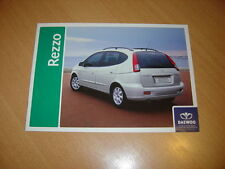 CATALOGUE Daewoo Rezzo de 2005