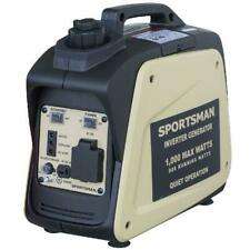 Portable Inverter Generator Lightweight Outdoors Electronics Power  Source 1000W