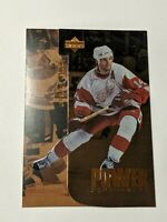 1996-97 Upper Deck Power Performers #P1 Brendan Shanahan Red Wings Hockey Card