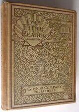 Cyr's Fifth Reader 1901 Ellen M. Cyr Antique Vtg Elementary Text Stories Antique
