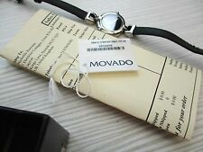 LADIES BOXED MOVADO, MUSEUM DIAL QUARTZ WATCH,,,TAG, PAPERS