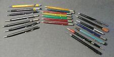 20 Vintage Mechanical Pencil Pentel Scripto Autopoint Sheaffer Skilcraft USA Lot