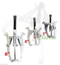 "3-Jaw Gear Puller Set  3"" 4"" 6"" Removal Tool Kit 4 Slide Gears Pulley & Flywheel"