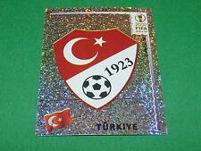N°188 BADGE TÜRKIYE TURQUIE PANINI FOOTBALL JAPAN KOREA 2002 COUPE MONDE FIFA