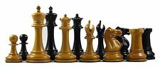 "Emil Kemény 1892-93 Reproduction Premium 3.75"" Staunton Chessmen"