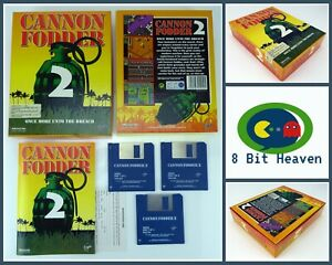CANNON FODDER 2 A SENSIBLE SOFTWARE GAME FOR COMMODORE AMIGA - TESTED & WORKING