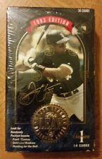 1993 LEAF Series 1 Factory SEALED Baseball Box 36 Packs-Frank Thomas-Gold RCs