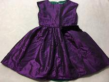 American Girl 16 Purple Shimmer Iridescent Black Bow Party Dress Portrait