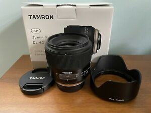 Tamron SP F012 35mm F/1.8 VC Di USD Lens For Nikon