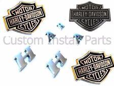 Harley Davidson Bed Side Letters Rear Tailgate Emblem Headrest Push Pin Pair