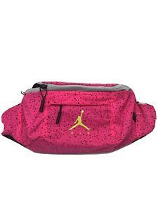 Nike Air Jordan Poolside Fanny Pack Cross Body Waist Bag 9A0287-A96 - Hyper Pink