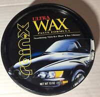 Vintage Rain X Ultra Wax Collectible Can,Car Graphics