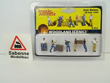 Woodland Scenics 1:87 H0 A1823 Dock Workers Arbeiter OVP C526