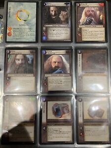 LOTR TCG Reflections Full FOIL Set - 52 Cards - Set 9R And 9R+ - MINT/NM
